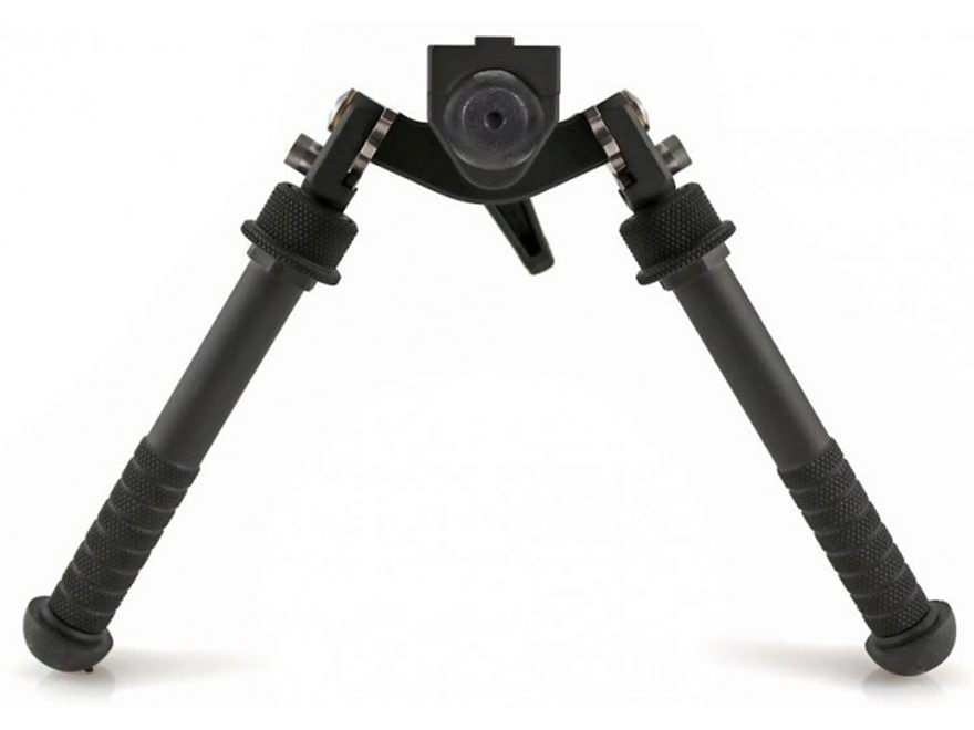 "Atlas BT65 CAL Gen 2 Bipod No Clamp Style 4.75"" to 9"" Aluminum Black"