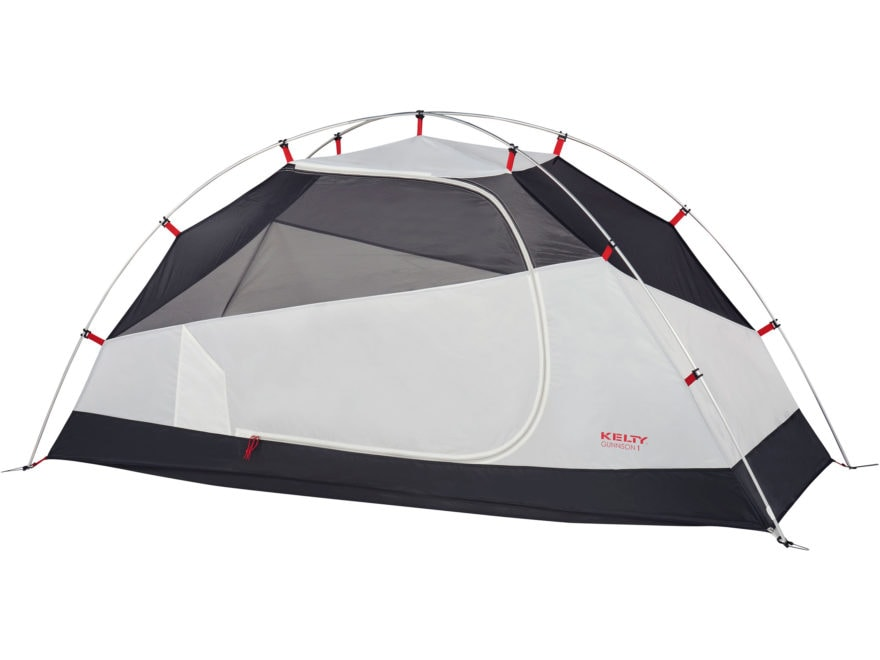 "Kelty Gunnison 1 Person Dome Tent with Footprint 89"" x 29"" x 43"" Polyester Gray"