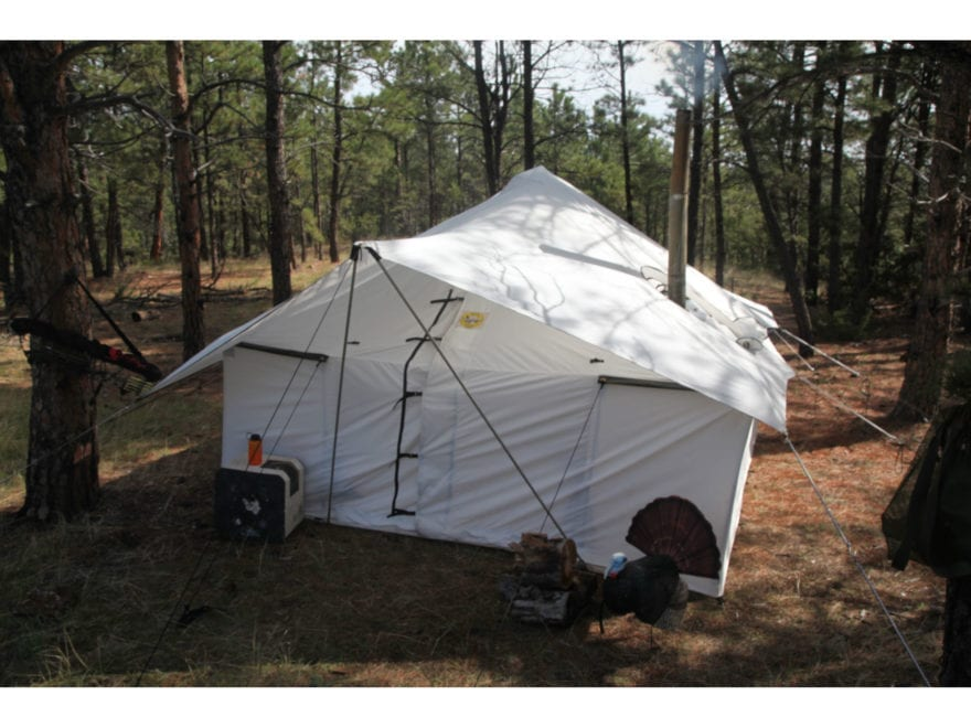 Montana Canvas Spike III 10 oz. Canvas tent package