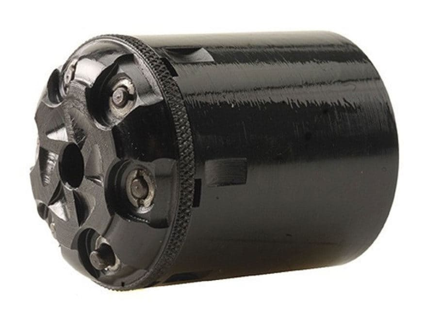 Taylor's & Company Conversion Cylinder 36 Caliber Pietta 1858 Remington Steel Frame Bla...