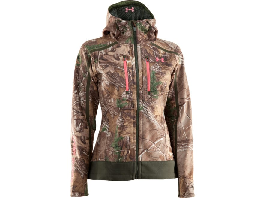 bfb339b1a8ae1 Under Armour Women's ColdGear Infrared Ridge Reaper Jacket Polyester