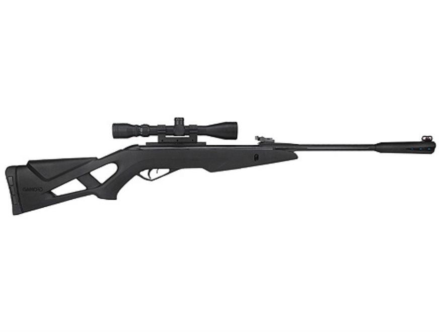 Gamo Silent Stalker Whisper Inert Gas Technology (IGT) Pellet Air Rifle Black Synthetic...