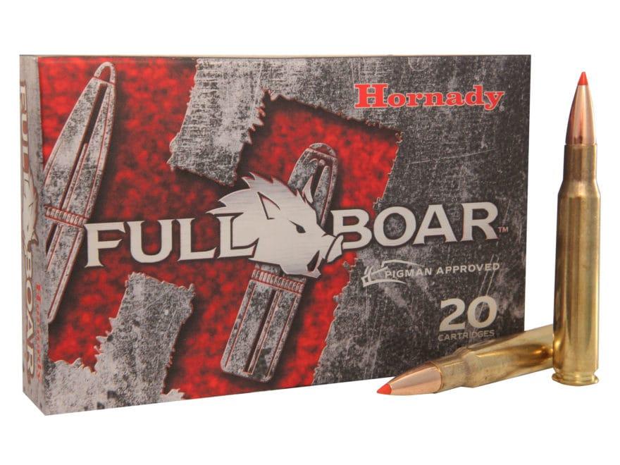Hornady Full Boar Ammunition 30-06 Springfield 165 Grain GMX Boat Tail Lead-Free Box of 20