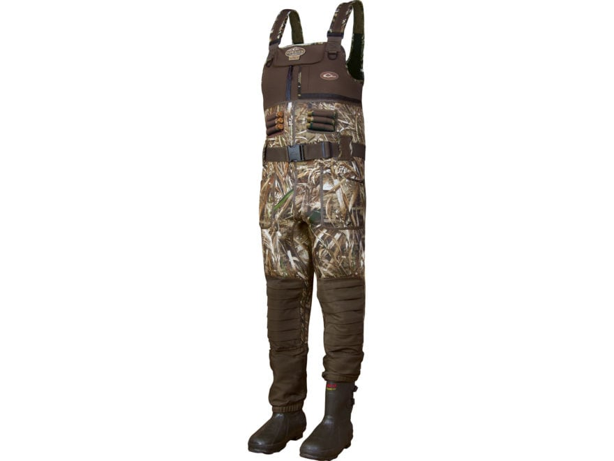 Drake MST Eqwader 2.0 3.5mm 800 Gram Insulated Chest Waders Neoprene