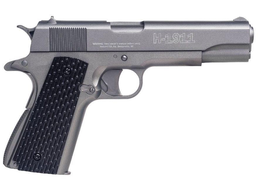 Hatsan H-1911 C02 Air Pistol 177 Caliber Pellet Stainless