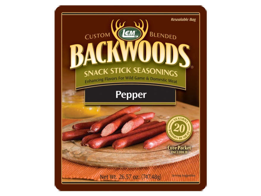 LEM Backwoods Snack Stick Seasoning for 20 lbs