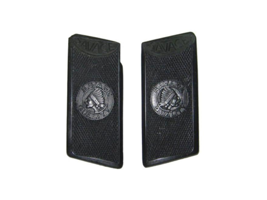 Vintage Gun Grips Savage 1915 25 ACP Polymer Black