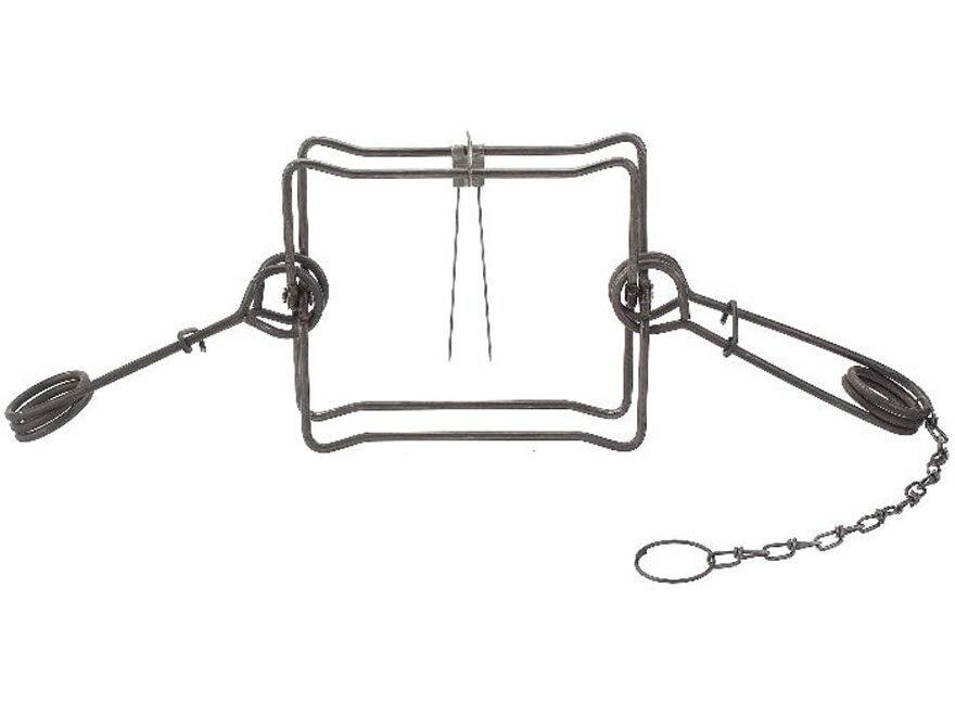 Duke #330 Body Trap Steel Silver