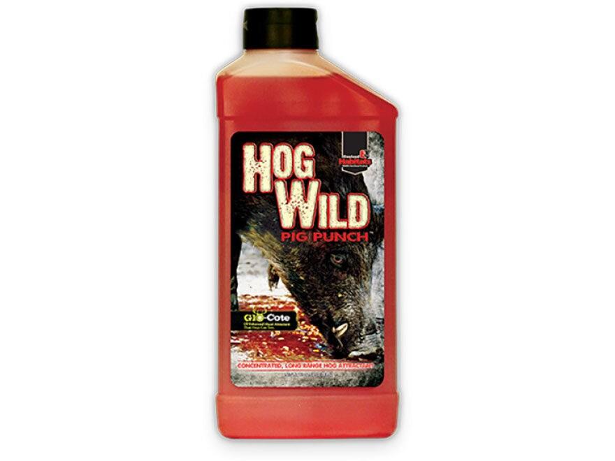 Evolved Habitats Hog Wild Pig Punch Hog Attractant Liquid 40 oz