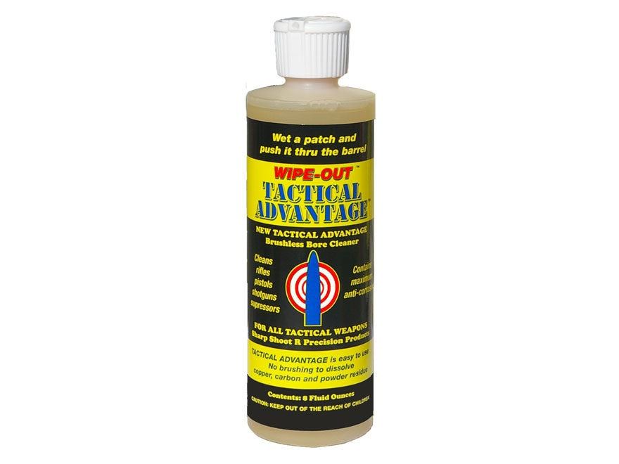 Sharp Shoot R Tactical Advantage Bore and Weapon Cleaning Solvent 8 oz Liquid