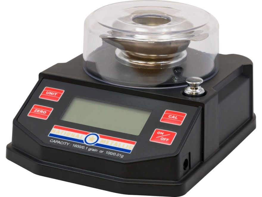 National Metallic Electronic Powder Scale 1600 Grain Capacity