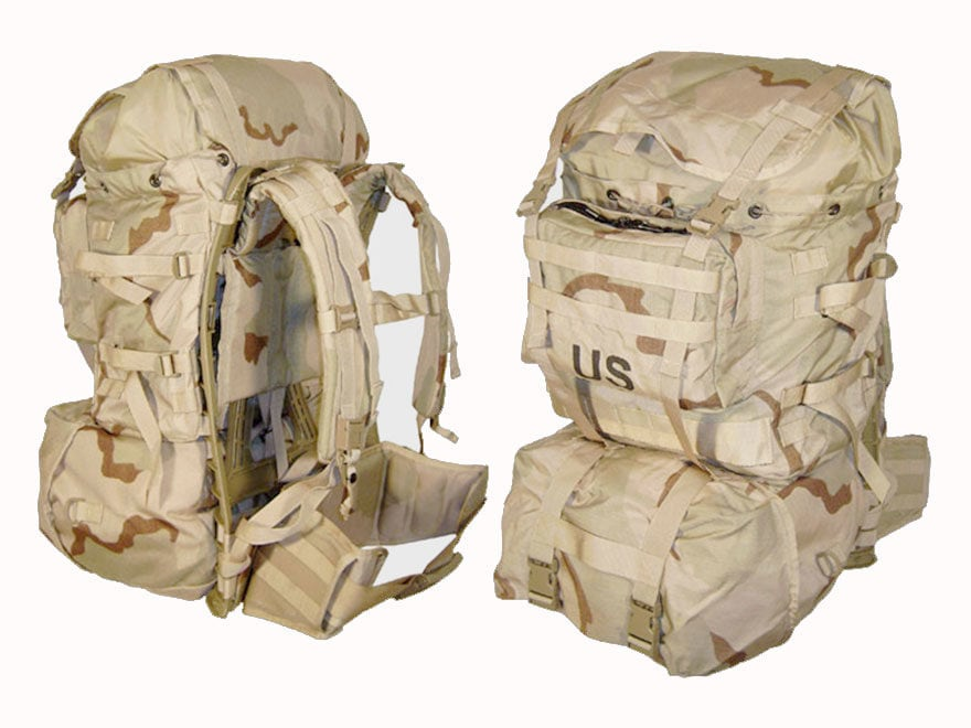 Military Surplus MOLLE II Standard Pack Grade - MPN: MLB01DS-N1-00-00