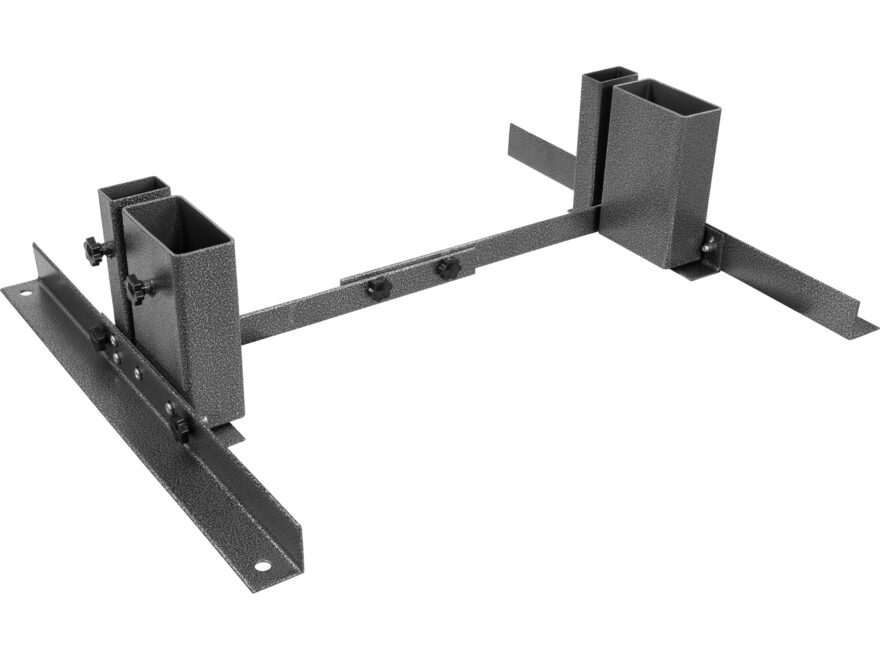 U.S. Ballistics Adjustable Target Stand Steel Black