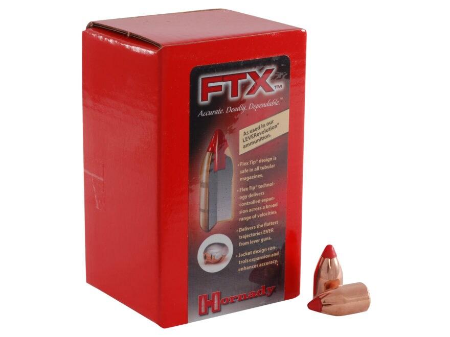Hornady FTX Bullets Flex Tip eXpanding Box of 100
