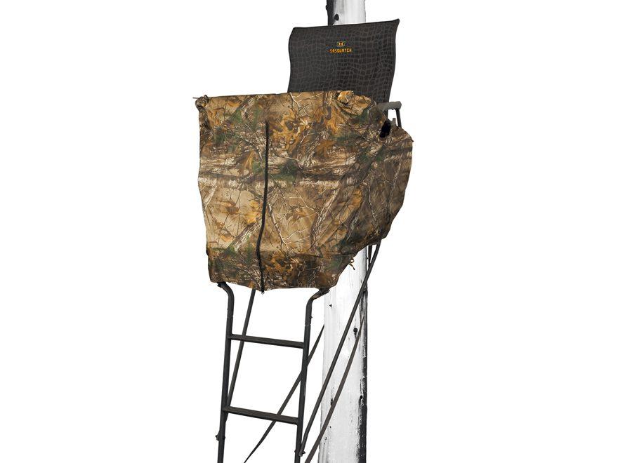 Hawk 1.5 Man Ladder Blind Kit  Polyester Realtree Xtra