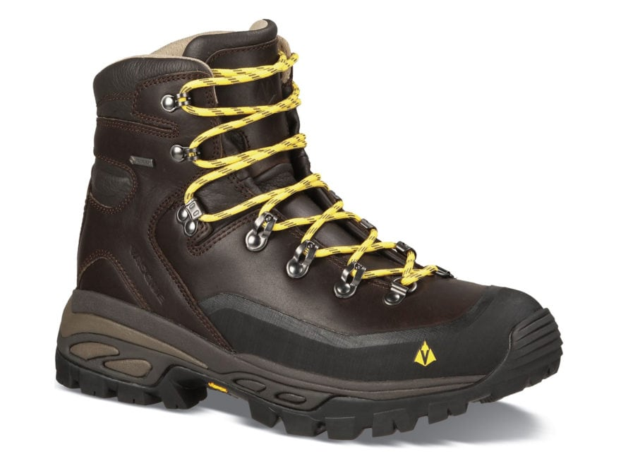 "Vasque Eriksson GTX 5"" Waterproof GORE-TEX Hiking Boots Leather Coffee Bean and Primros..."