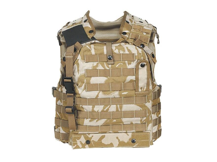 3607fdb3f7848 Military Surplus New Condition British Osprey MK III Body Armor Cover  Desert DPM Camo E.