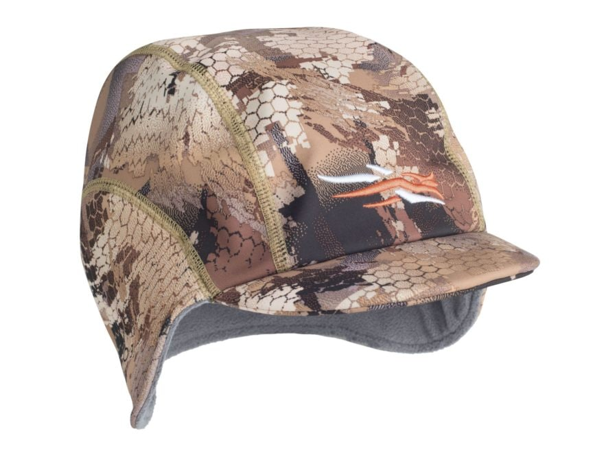 Sitka Gear Dakota Windstopper Hat Polyester Optifade Waterfowl Marsh Camo