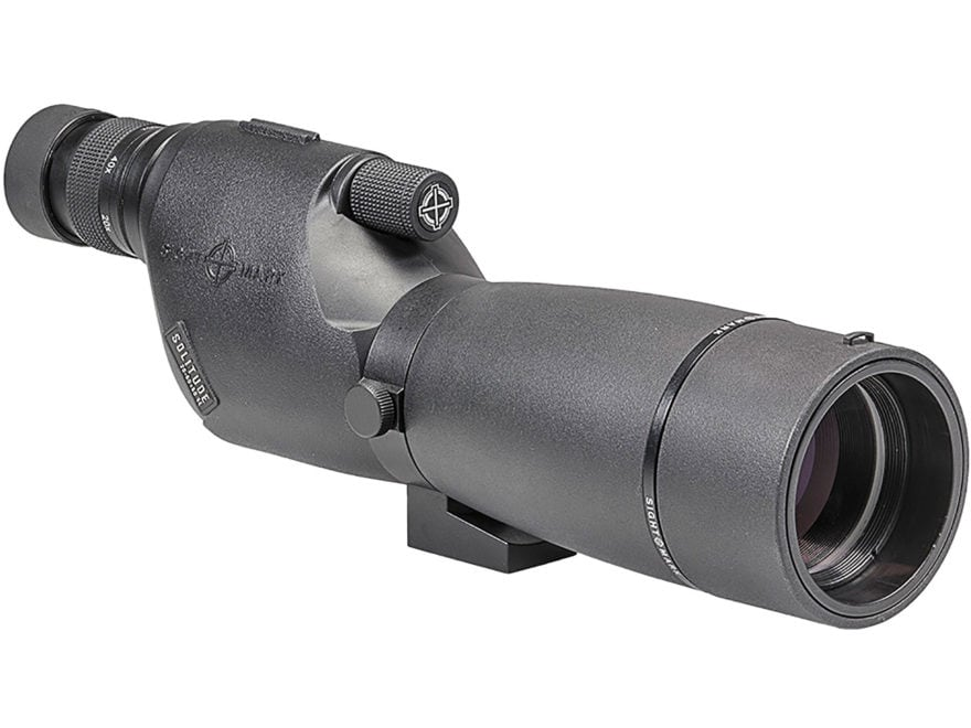 Sightmark Solitude Spotting Scope 20-60x 60mm Matte with Case, Lens Covers and Tripod
