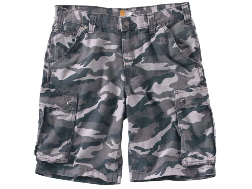 Carhartt Men's Rugged Cargo Camo Shorts Cotton