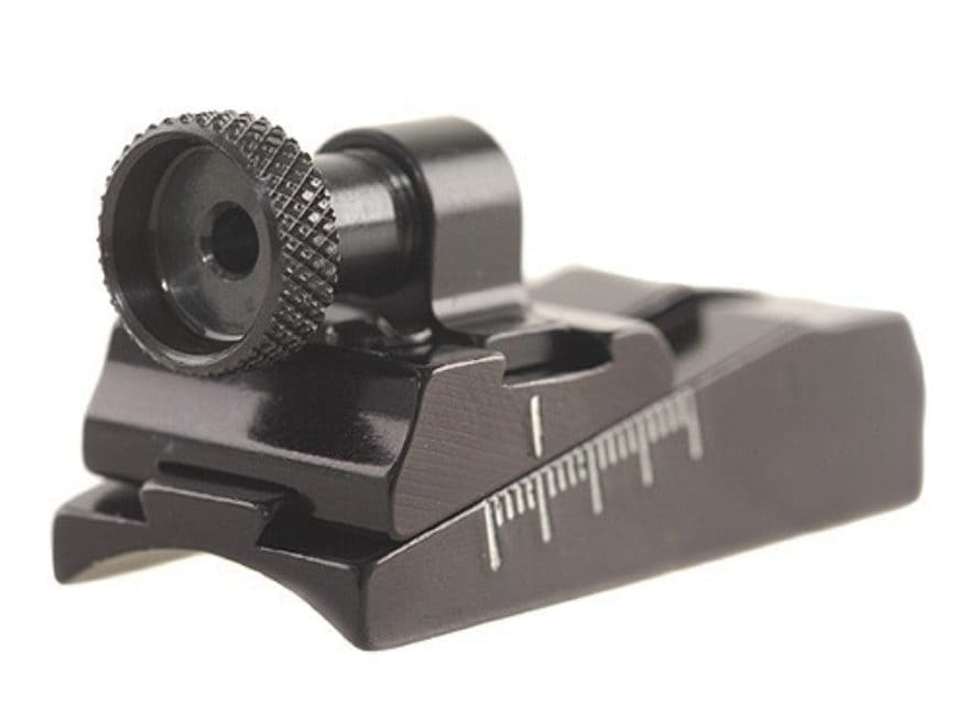 Williams WGRS-H&R Guide Receiver Peep Sight H&R 158, 258 Topper Single Shot Rifles, Rug...