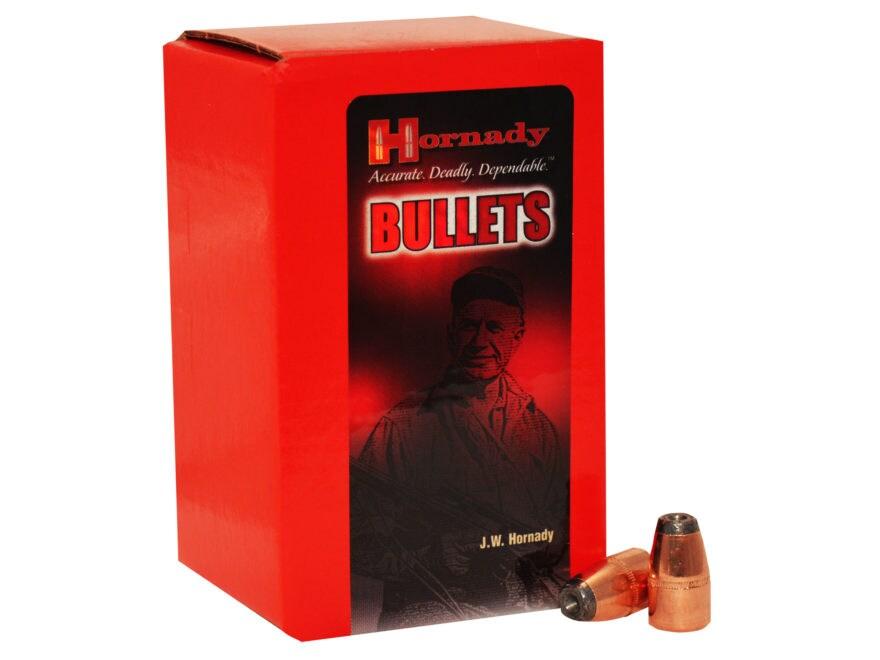 Hornady Bullets 45 Caliber (458 Diameter) 300 Grain Hollow Point Box of 50