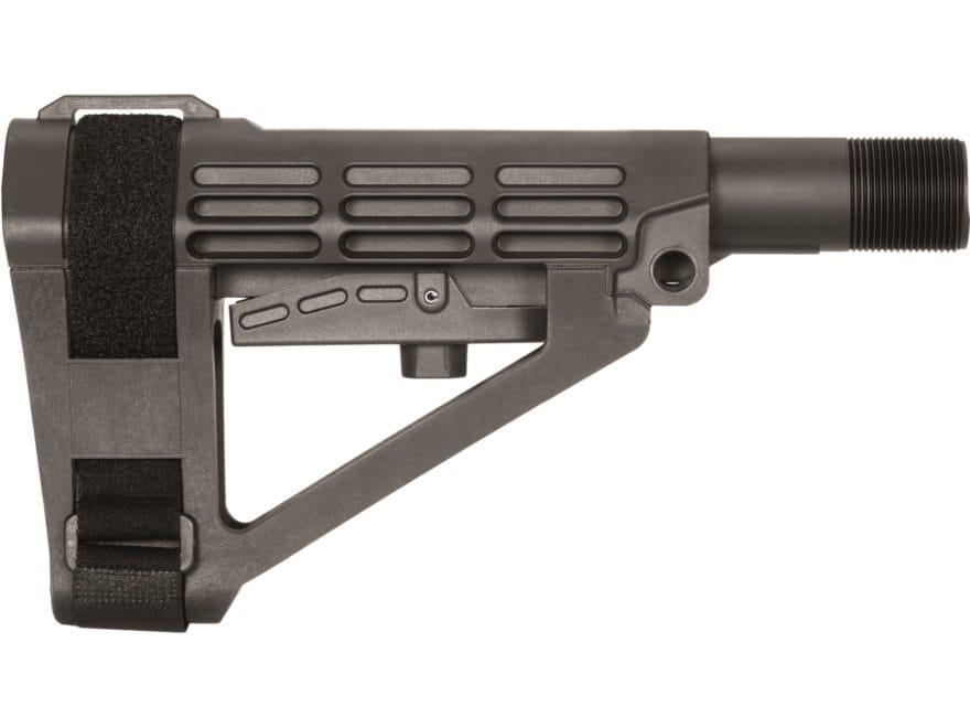 SB Tactical SBA4 Pistol Stabilizing Brace Collapsible AR-15 Black