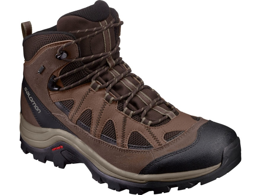"Salomon Authentic LTR GTX 6"" GORE-TEX Hiking Boots Leather/Synthetic Men's"