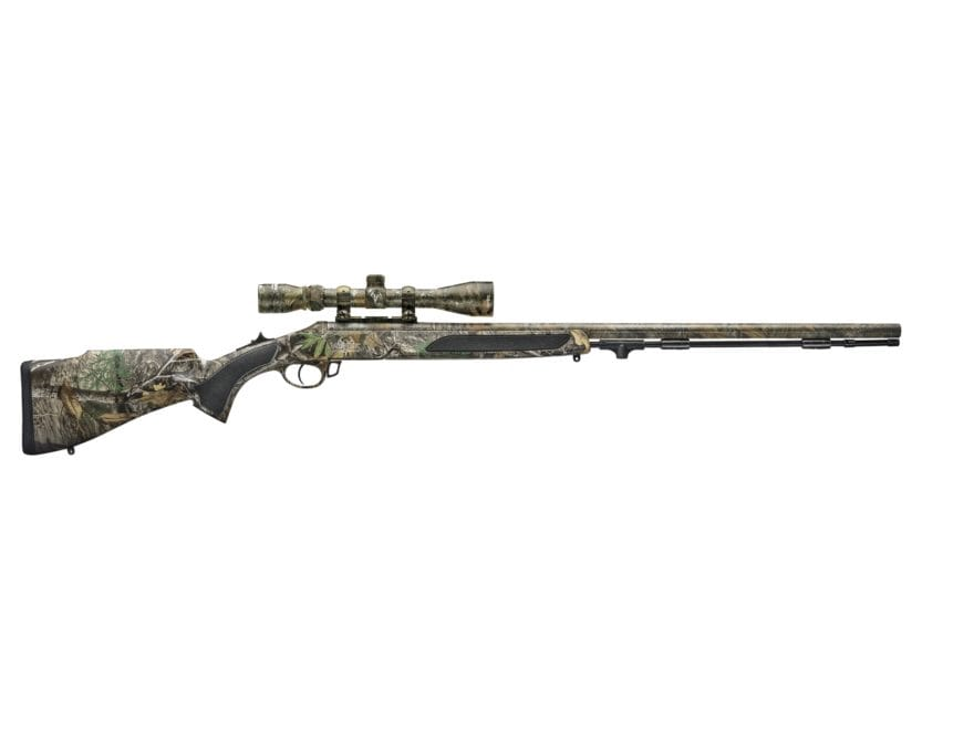 "Traditions Vortek StrikerFire LDR Muzzleloading Rifle 50 Caliber 30"" Barrel with 3-9x40..."