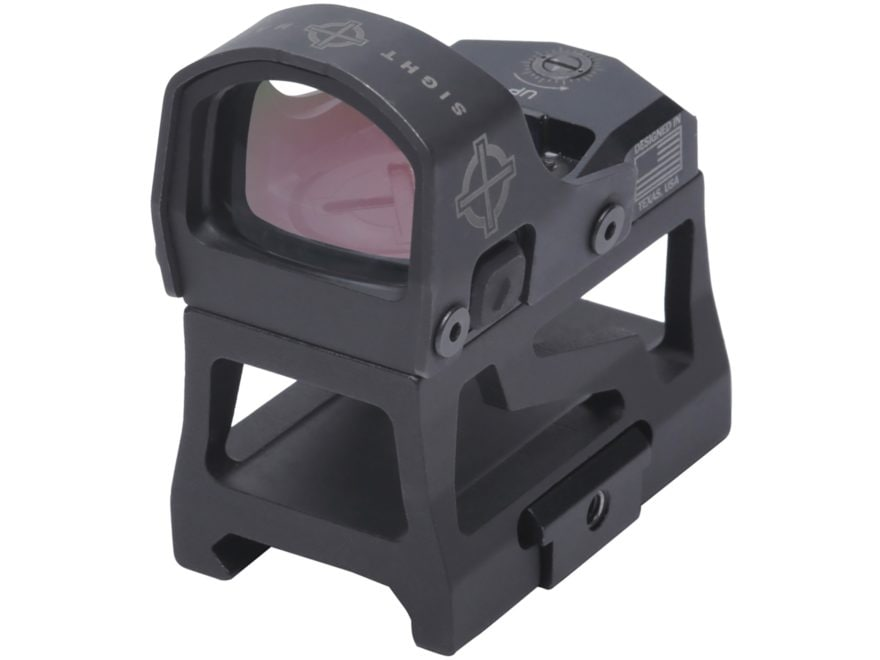 Sightmark Mini Shot M-Spec FMS Red Dot Sight 1x 3 MOA Dot with Low Profile and AR Riser...