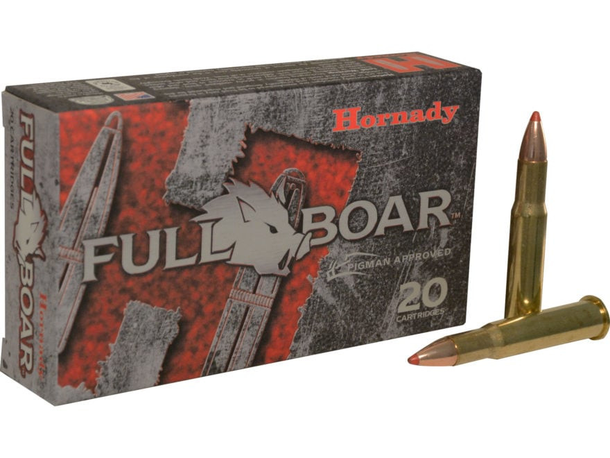 Hornady Full Boar Ammunition 30-30 Winchester 140 Grain MonoFlex Lead-Free Box of 20