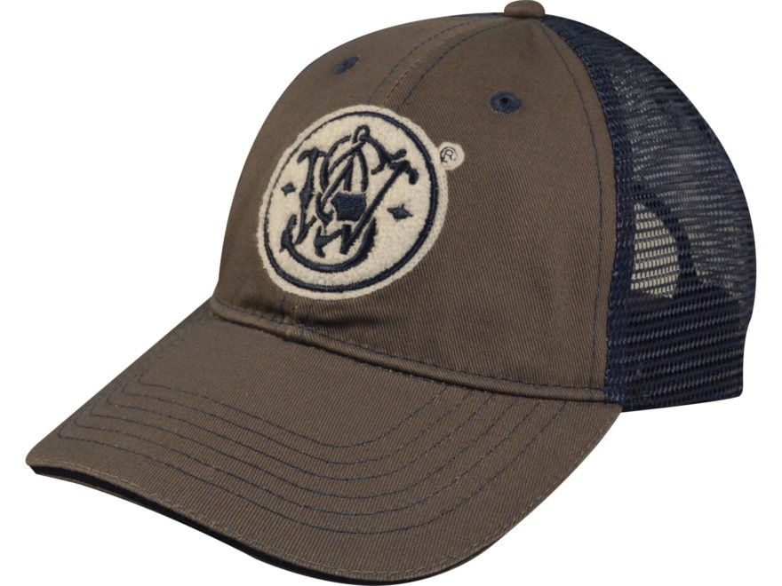 Smith & Wesson Logo Mesh Back Cap Polyester/Nylon