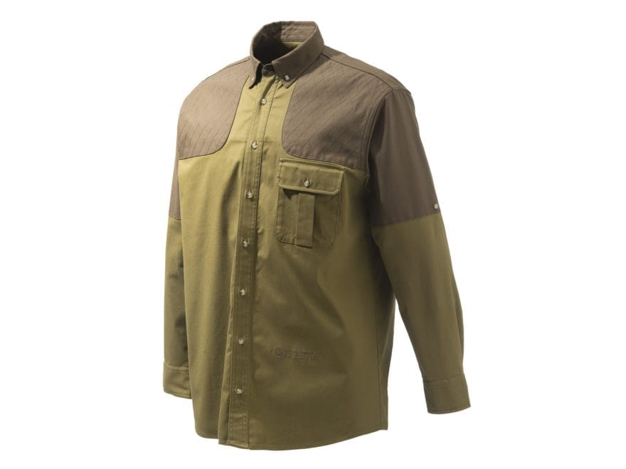 Beretta Men's TM Field Button-Up Shirt Long Sleeve Polyester