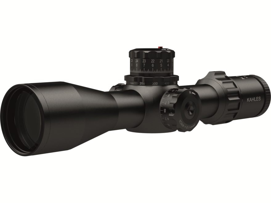 Kahles K318i Rifle Scope 34mm Tube 3-18x 50mm 1/10 Mil CCW Adjustments Zero Stop Top Fo...
