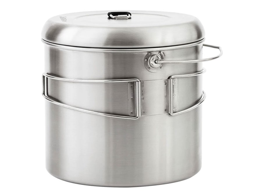 Solo Stove Campfire Camp Stove Pot 4000 Stainless Steel