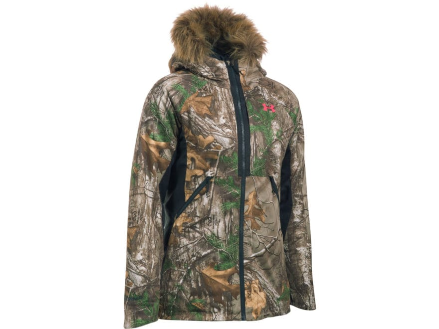 380710551b Under Armour Women s UA Siberian Insulated Jacket Polyester Realtree Xtra  Camo