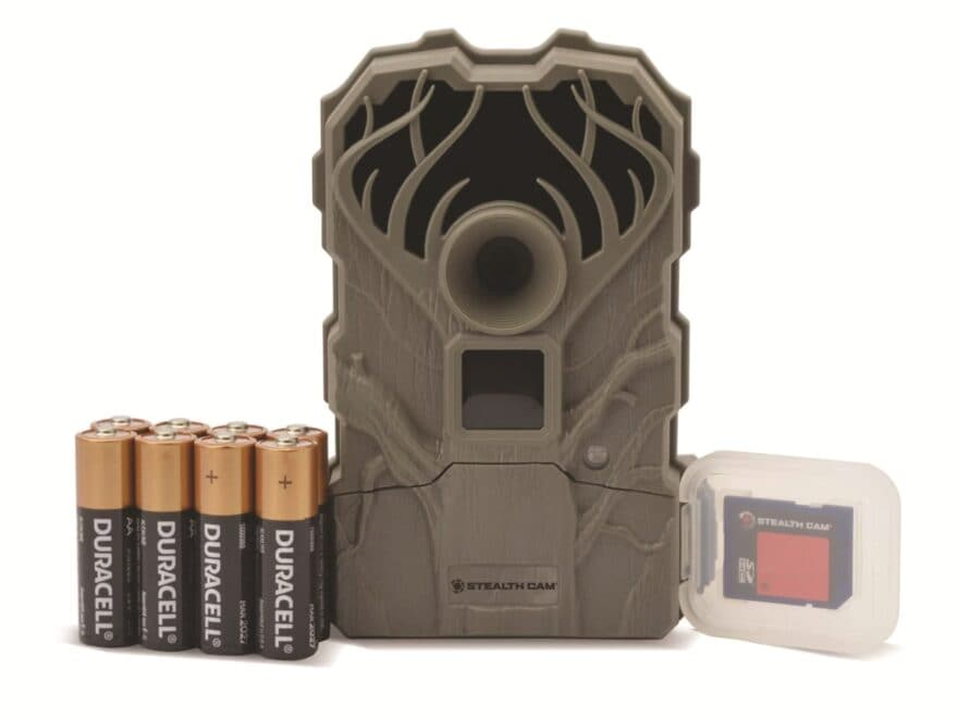 Stealth Cam Q2-USA Ultra Low Glo Trail Camera Combo