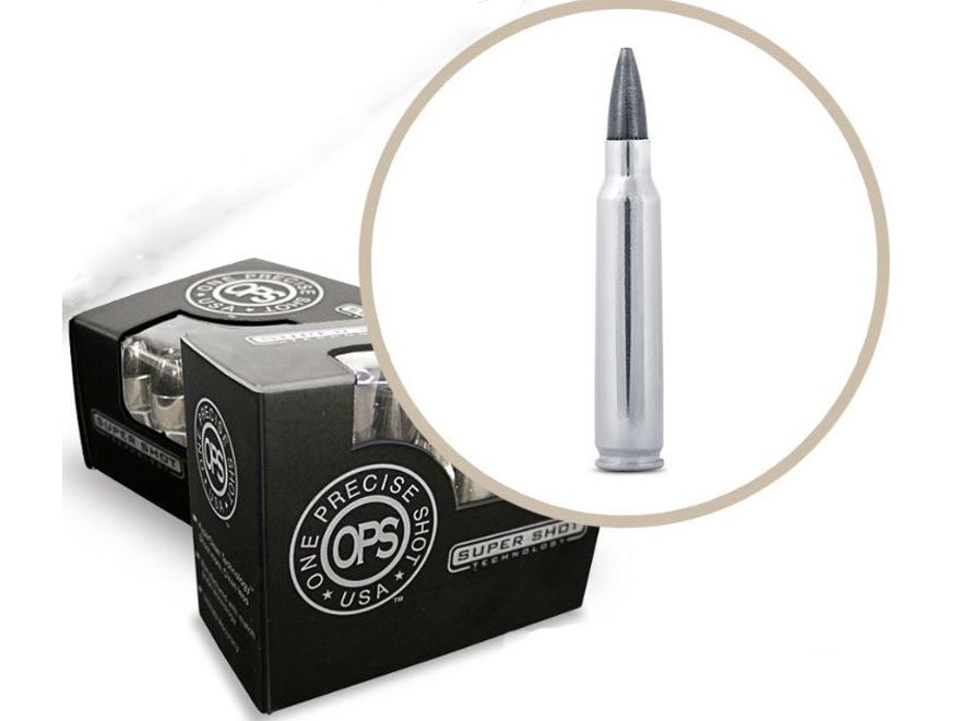 OPS Ammunition 223 Remington 62 Grain Hollow Point Frangible Lead-Free Box of 20