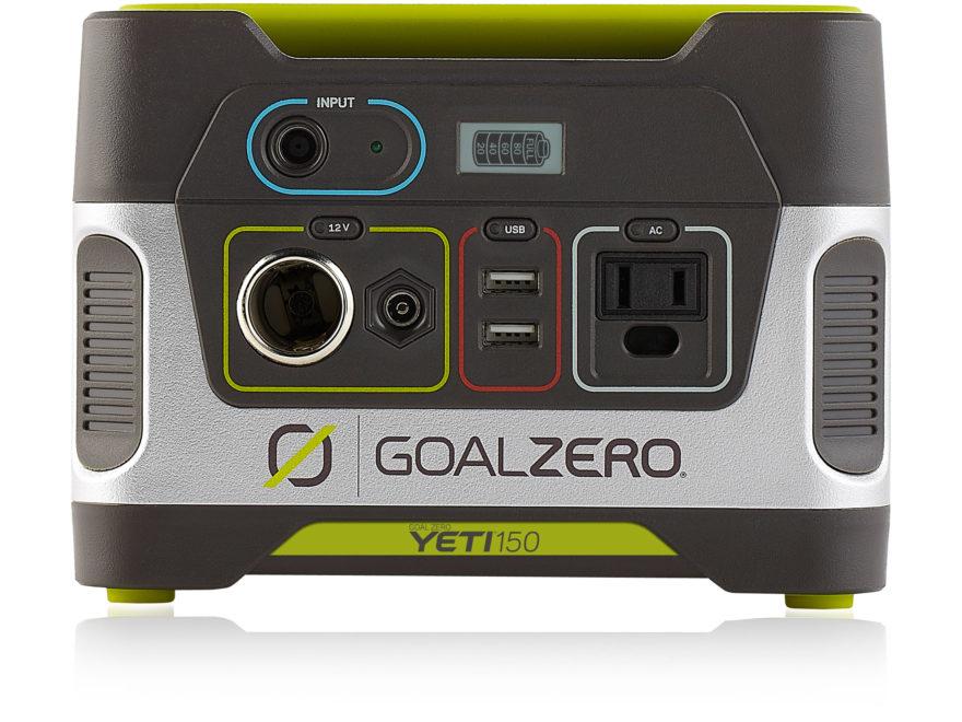 GoalZero Yeti 150 Portable Solar Generator