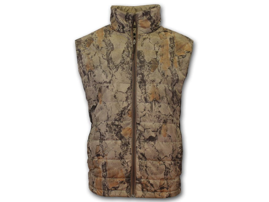 Natural Gear Men's Synthetic Down Insulated Vest Polyester