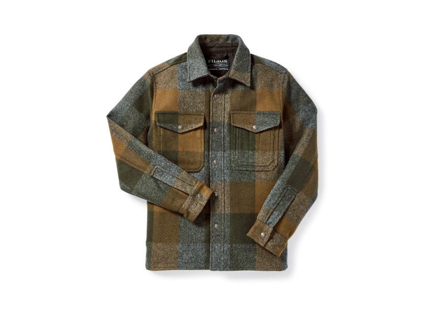 Filson Men's Mackinaw Flannel Jac-Shirt Mackinaw Wool/Cotton