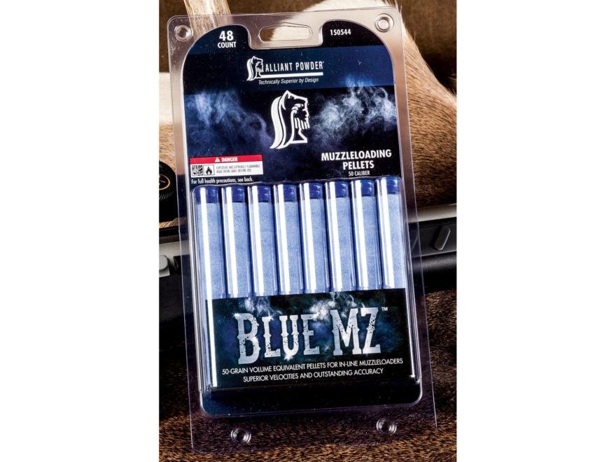 Alliant Blue MZ Black Powder Substitute 50 Caliber 50 Grain Pellets Pack of 48