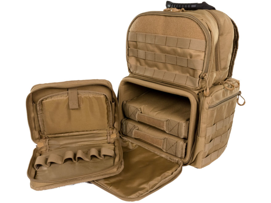 7a1c2036edc6 MidwayUSA Range Bag Backpack Coyote - MPN  240737