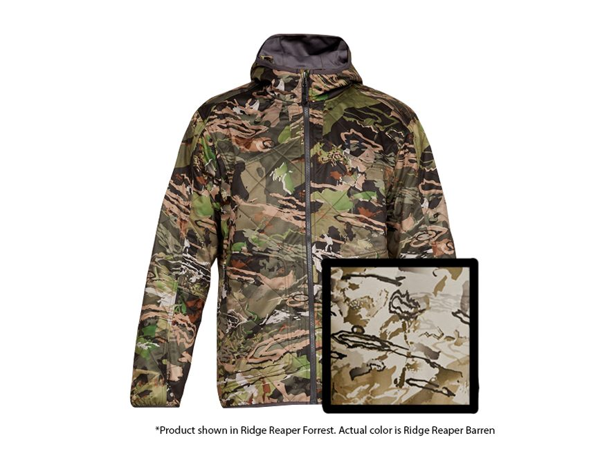 6a6fde4c5888a Under Armour Men's UA Brow Tine Mid-Season Scent Control Jacket Polyester