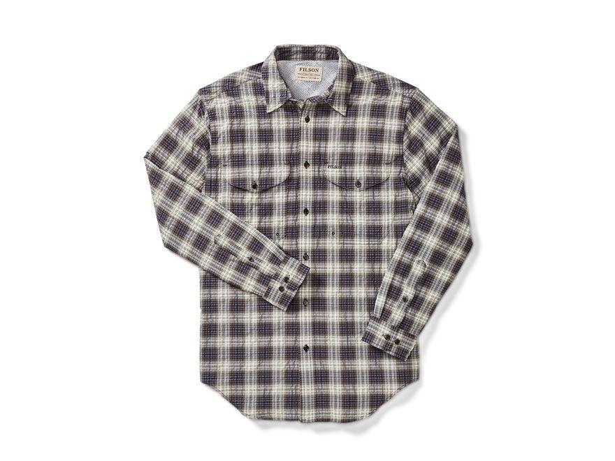 Filson Men's Twin Lakes Sport Shirt Long Sleeve Nylon/Polyester