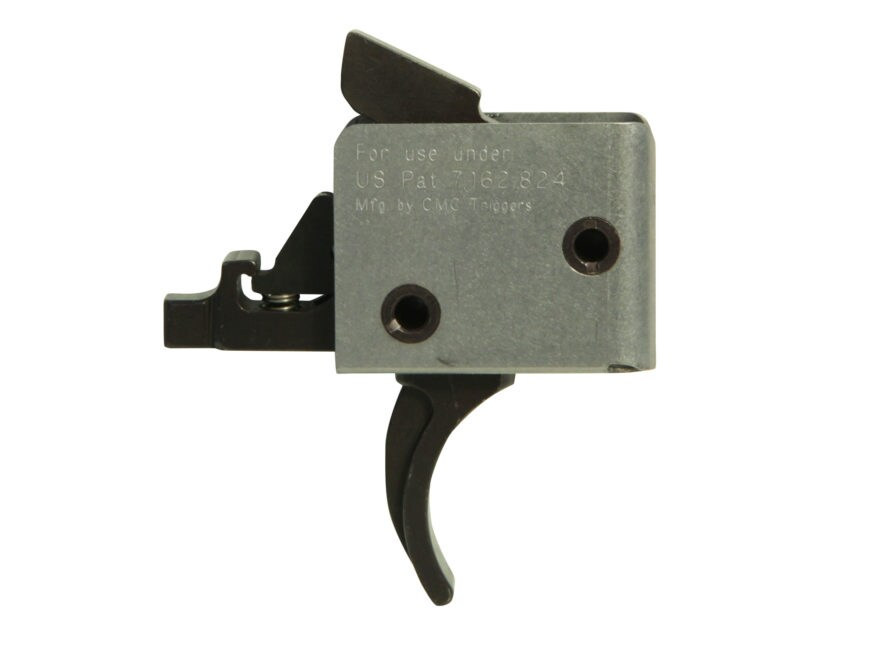 "CMC Triggers 1-3 Match Grade Drop-In Trigger Group AR-15, LR-308 Small Pin .154"" Two St..."