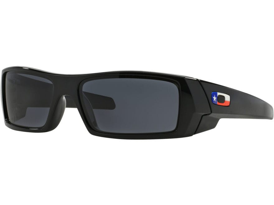 Oakley Gascan Texas Flag Edition Sunglasses Black Frame/Black Lens