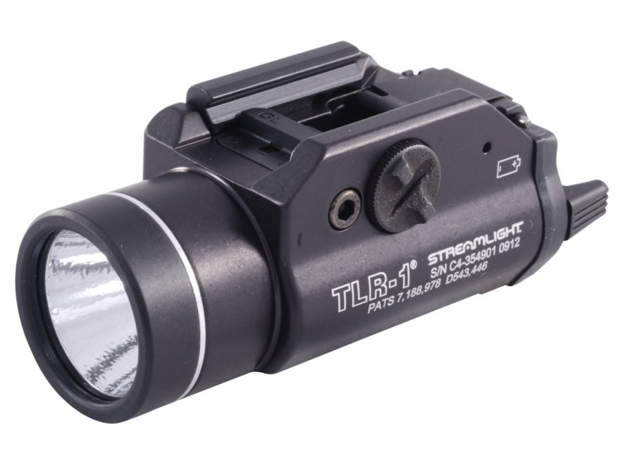 Streamlight TLR-1 Weapon Light White LED  Fits Picatinny or Glock-Style Rails Aluminum ...