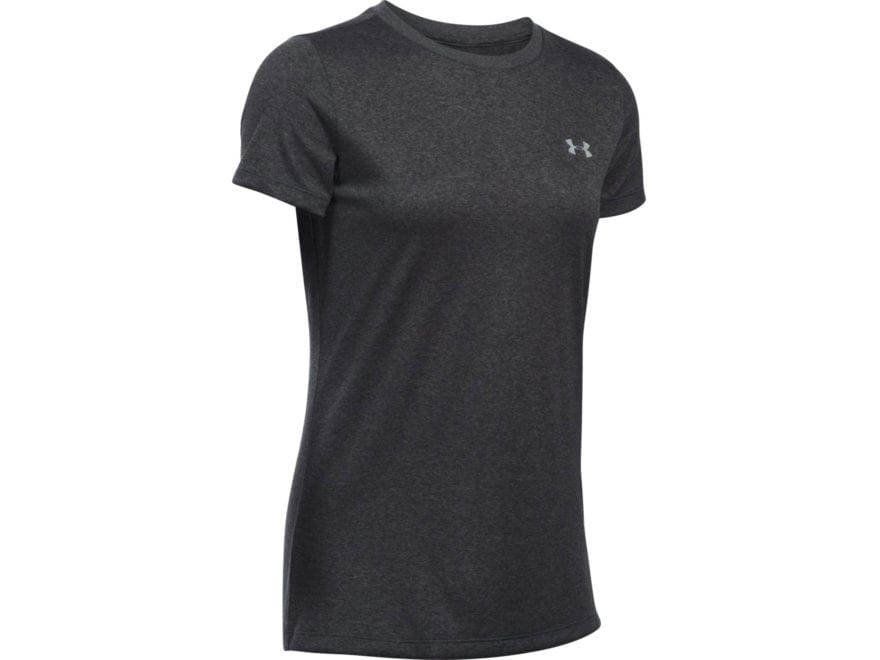 Under Armour Women's UA Tech Crew T-Shirt Short Sleeve Polyester