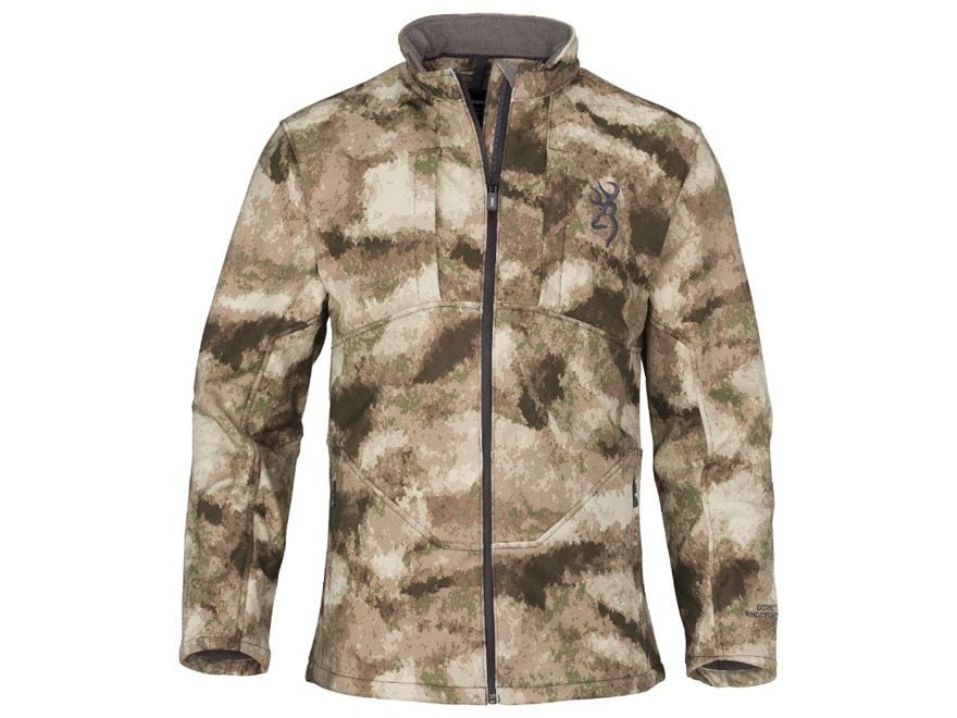 Browning Men's Backcountry-FM Gore Windstopper Soft Shell Jacket Nylon